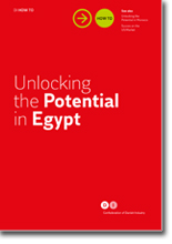 Unlocking Egypt folder. Foto Dansk Industri